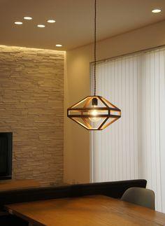 【楽天市場】【1灯 】ABACUS Wood pendant light / アバカス ウッド ペンダントライトAPROZ / アプロス ウォールナット 照明 ランプ ダイニング 木 無垢 AZP-594-BR:interiorzakka ZEN-YOU