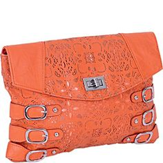 Mad Style Laser Cut Saddlope - Orange - via eBags.com!