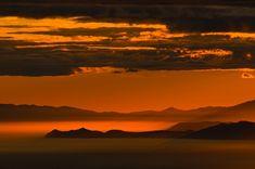 gün batımı kutuplar tundra fotoğrafları