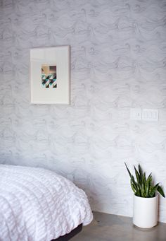 seascape wallpaper by abigail edwards // via a house in the hills.