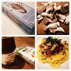 Makaron bezglutenowy z grzybami - healthy plan by ann
