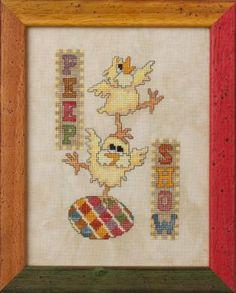 Peep Show | Glendon Place | cross stitch pattern