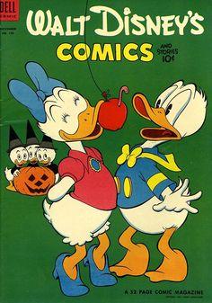 Walt Disney's comics. (1954) Halloween