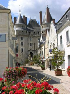 Castle of Langeais ~ Indre-et-Loire, France Beautiful Castles, Beautiful Buildings, Beautiful Places, Photo Chateau, Culture Of France, Lake Annecy, France Country, Cathedral Architecture, Saumur