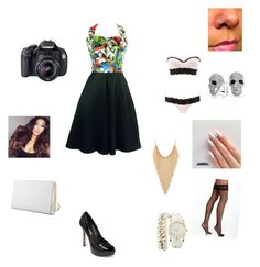 """outfit 13"" by beauitfulasiam on Polyvore featuring Charlotte Russe, BCBGeneration, Forever 21, Bling Jewelry, Commando and Trussardi"