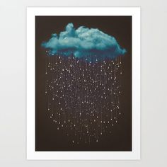 Buy Let It Fall Art Print by soaringanchordesigns. Worldwide shipping available at Society6.com. Just one of millions of high quality products available.