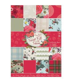 Papermania Pocket Full Of Posies 32ct 11.63''x8.25'' Paper Pack