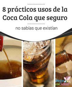 8 prácticos usos de la Coca Cola que seguro no sabías que existían  La Coca Cola es una bebida muy popular en todo el mundo y, de hecho, hay quienes afirman que es la que más se consume después del agua.