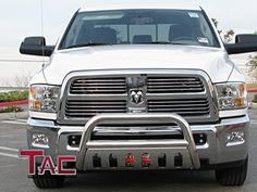 TAC 20102016 RAM 2500  3500 BULL BAR Stainless Steel Bumper Brush Guard ** Read more reviews of the product by visiting the affiliate link Amazon.com on the image.