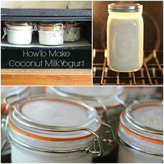Easy 4 Ingredient Coconut Milk Yogurt Recipe