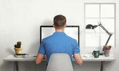Los problemas de salud que nos puede acarrear una mala postura frente al ordenador...