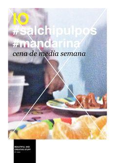 #IO #mandarina #salchipulpos y #papá, la mezcla perfecta para la #cenadelcachorro