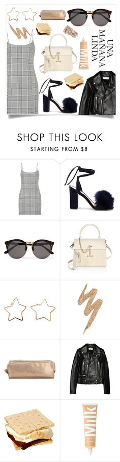 """""""G11"""" by valentinafullerton2 ❤ liked on Polyvore featuring Alexander Wang, Loeffler Randall, Illesteva, Luana, Urban Decay, Sweet and Sour and Yves Saint Laurent"""