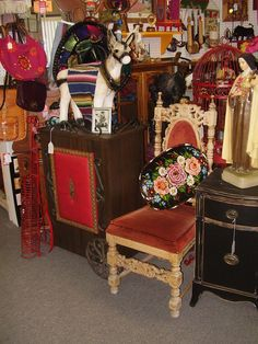 """My space at """"The Antique Village"""". I  have Cool stuff!"""