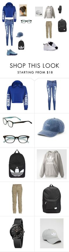 """""""Untitled #31"""" by shiyanemcnab on Polyvore featuring New Look, Tommy Hilfiger, Kate Spade, SO, Topshop, adidas, Jeep, WeSC and Calvin Klein"""