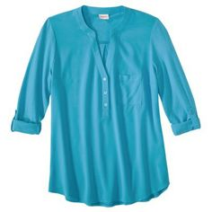 bought this shirt today..it's really cute for the spring and summer. I got it in navy. Thought it woild be cute with all colored bottoms