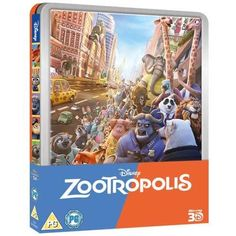 Zootropolis / Zootopia 3D (2016) [Limited lenticular Edition] Blu-ray 3D + Blu-ray Steelbook