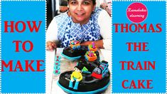 Thomas the train with tracks toys set game number 3 or birthday cake design ideas decorating Simple Birthday Cake Designs, Easy Kids Birthday Cakes, Easy Cakes For Kids, Cartoon Birthday Cake, Cake Designs For Kids, Simple Cake Designs, 3rd Birthday Cakes, Cake Decorating For Beginners, Cake Decorating Classes