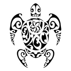 TATTOO TRIBES: Tattoo of Balboa turtle, Family, protection tattoo,turtle balboa tiki fishhook tattoo - royaty-free tribal tattoos with meaning Maori Tattoos, Tribal Turtle Tattoos, Tattoo Tribal, Turtle Tattoo Designs, Kunst Tattoos, Maori Tattoo Designs, Marquesan Tattoos, Samoan Tattoo, Body Art Tattoos