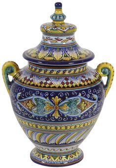 Italian Ceramic Cremation Urns