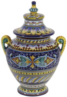 Italian Ceramic Cremation Urns