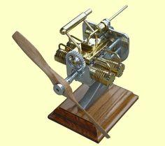 4 cylinder aircraft steam engine