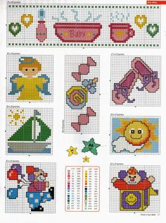 Cross Stitch Designs, Cross Stitch Patterns, Baby Giveaways, Cross Stitch Angels, C2c, Cross Stitching, Embroidery Stitches, Diy And Crafts, Baby Kids