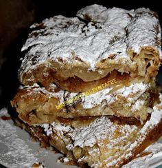 Ελληνικές συνταγές για νόστιμο, υγιεινό και οικονομικό φαγητό. Δοκιμάστε τες όλες Easy Sweets, Sweets Recipes, Easy Desserts, Cookie Recipes, Low Calorie Cake, Pastry Cook, Greek Sweets, Greek Cooking, Sweet Pie