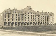 Dolphin Lodge, Grand Avenue, Worthing, West Sussex, England. Circa 1893  Our building! I love finding old photos of it!