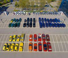 Ursus Werhli laat zien hoe een parkeerplaats organized kan zijn.   http://www.facebook.com/MarionLizzi.ProfessionalOrganizer