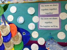 rainbow fish- writing about sharing