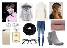 """""""Date with Baekhyun 3"""" by miks15 ❤ liked on Polyvore featuring WithChic, Diane Von Furstenberg, Urban Decay, Helmut Lang, Speck and Chanel"""