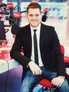 Michael Buble, I could look... er i mean listen all day!