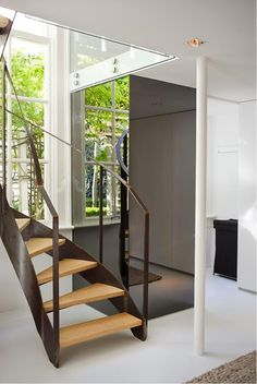 mirror and stair
