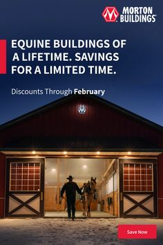 From basic to bold, Morton Buildings builds the finest pole barns, equestrian buildings, steel buildings and more.