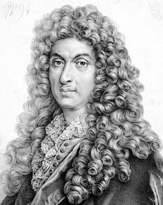 Jean-Baptiste Lully (1632 – 1687) was a Florentine-born French composer who spent most of his life working in the court of Louis XIV of France. He is considered the chief master of the French baroque style. Lully disavowed any Italian influence in French music of the period. He became a French subject in 1661.