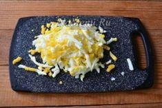 Салат «Минутный» — уже обошел Оливье и Шубу | Всё для Тебя Baked Potato, Grains, Rice, Potatoes, Cheese, Baking, Ethnic Recipes, Food, Lettuce Recipes