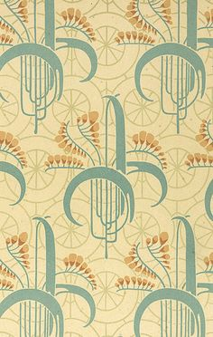 Art Nouveau-such a beautiful era for textiles