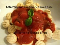 gnocchi di tofu ..attacco Weight Loss Diet Plan, Fast Weight Loss, Gnocchi, Dukan Diet, I Foods, Diet Recipes, Health Fitness, Food And Drink, Low Carb