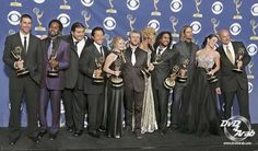September 18, 2005. Emmy winners! LOST won for Outstanding Drama Series for Season 1.