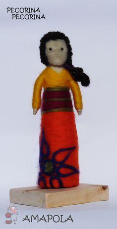 Escultura en Fieltro Agujado, a pedido. www.pecorinapecorina@gmail.com