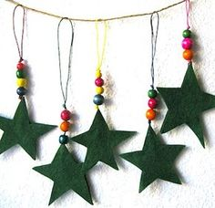 Christmas Ornaments to Make! - Things to Make and Do, Crafts and Activities for Kids - The Crafty Crow