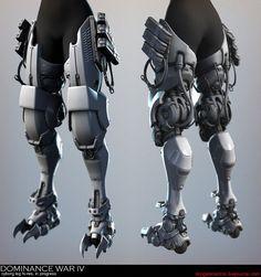 The Future is Here: Printed Prosthetics Robot Concept Art, Armor Concept, Zbrush, Robot Leg, Cyberpunk Rpg, Robot Parts, Gato Anime, Futuristic Armour, Arte Robot