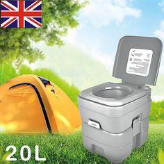 5 Gallon 20L Portable Flush Motorhome Caravan Camping Travel Toilet Porta Potti in Sporting Goods, Camping & Hiking, Camping Hygiene & Sanitation | eBay!