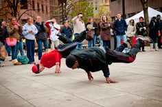 Quincy Market - Boston, Massachusetts. Saw this while I was there. Very entertaining.