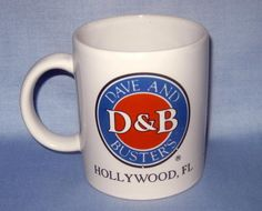 790c5616680 Coffee Cup Mug Dave & Busters Hollywood Fl 12 oz Rare and Hard to Find  coffee