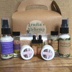 Natural Cleansing Sage & Lavender Reserve Collection Sampler Sets. Perfect for pampering yourself or someone else!