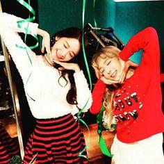 YoonA and Taeyeon