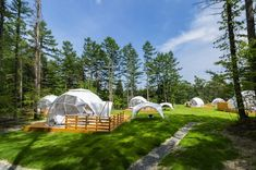 お勧めグランピング施設 PICAFujiyamaの体験談   ドームの設計・提案ならアースドーム Mountain Ranch House Plans, Dome House, Geodesic Dome, Outdoor Furniture, Outdoor Decor, Glamping, Cottage, Layout, House Design