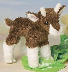 Douglas Cuddle Toys Buffy the Baby Goat # 1505 Stuffed Animal Toy